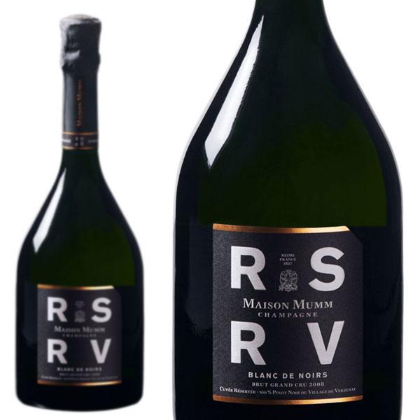 シャンパン メゾン・マム RSRV ブラン・ド・ノワール 2008年 750ml 正規 (フランス シャンパーニュ 白 箱なし)