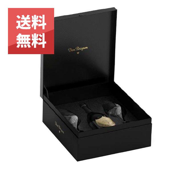 ドン ペリニヨン 2008年 750ml オリジナルロゴ入りペアグラス付 箱入り 正規 (フランス シャンパン 白) 送料無料