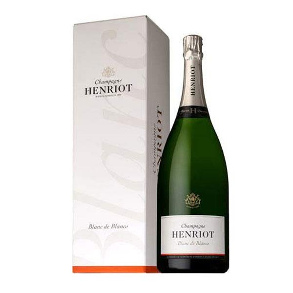 シャンパン アンリオ ブラン・ド・ブラン ブリュット マグナムサイズ 箱入り 1500ml (フランス シャンパーニュ 白)