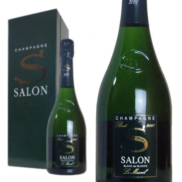 シャンパン サロン ブラン・ド・ブラン ミレジム 2007年 750ml 箱入り 正規 (フランス シャンパーニュ 白)