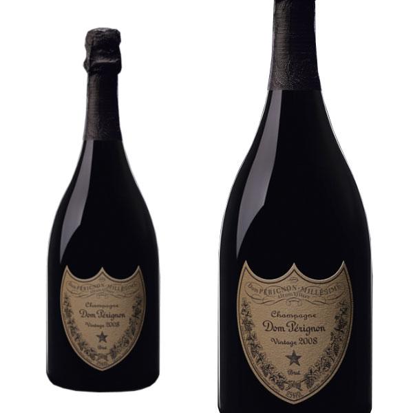 ドンペリ シャンパン ドンペリニヨン 2008年 750ml 正規 (フランス シャンパーニュ 白 箱なし)