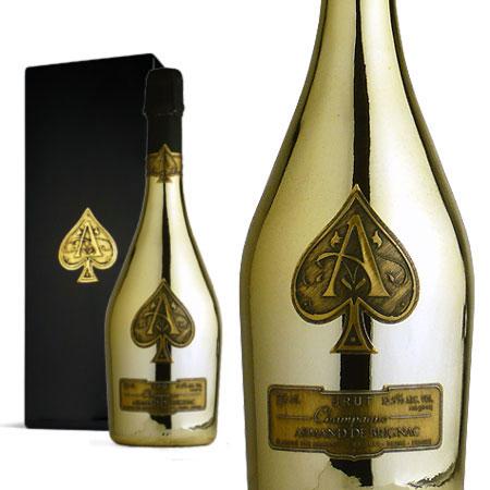 アルマン・ド・ブリニャック ブリュット ゴールド 箱入り 750ml (フランス シャンパーニュ シャンパン 白)