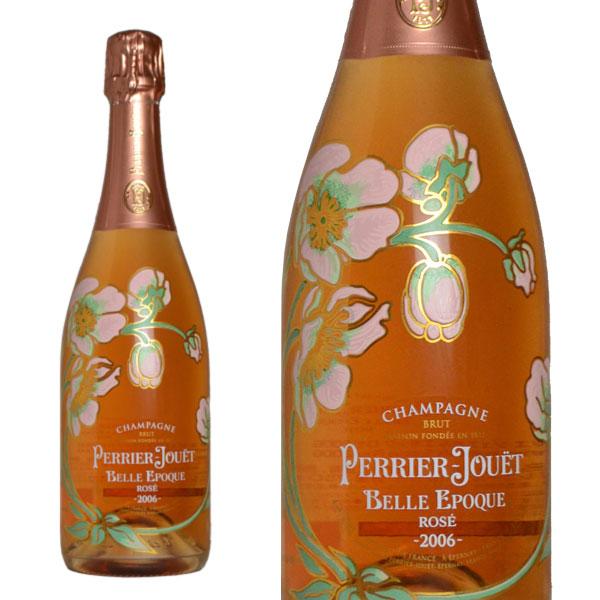 シャンパーニュ ペリエ・ジュエ ベルエポック ロゼ ブリュット ミレジム 2006年 正規 箱なし (フランス シャンパン)