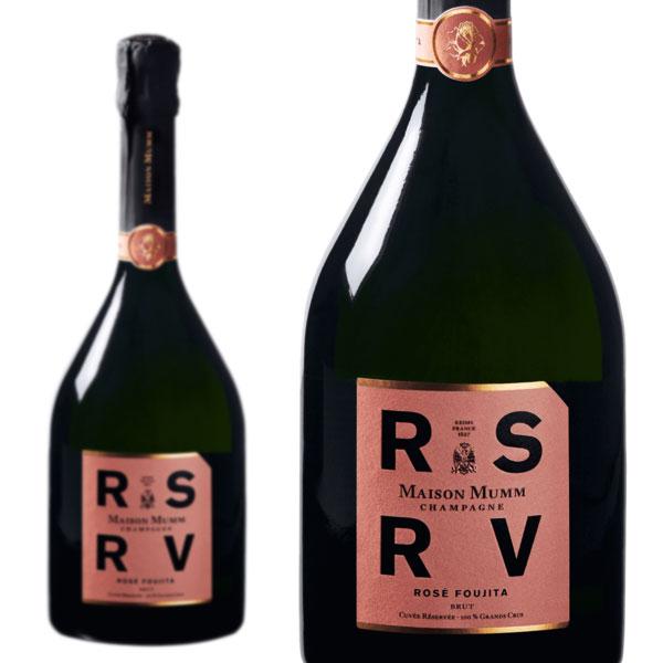 シャンパン メゾン・マム RSRV ロゼ フジタ 750ml 正規 (フランス シャンパーニュ ロゼ 箱なし)