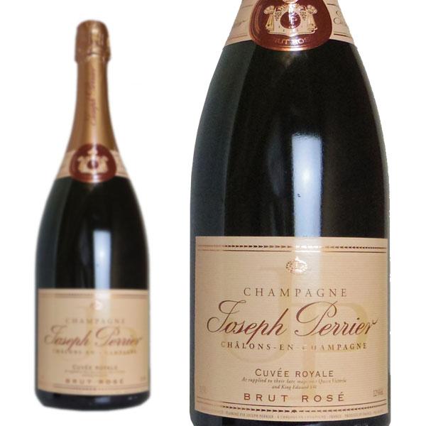シャンパン ジョセフ・ペリエ ロゼ ブリュット キュヴェ・ロワイヤル マグナムサイズ 1500ml (フランス シャンパーニュ ロゼ 箱なし)