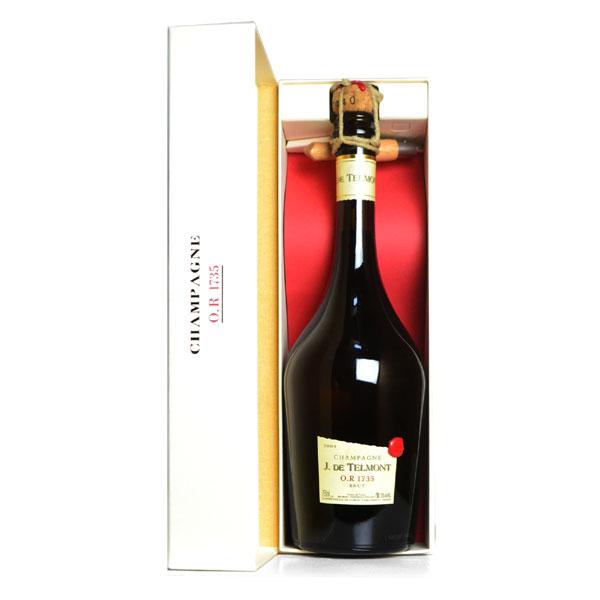 シャンパン ジ・ド・テルモン O.R 1735 ミレジメ 2004年 750ml 箱入り カットナイフ付 (フランス シャンパーニュ 白)