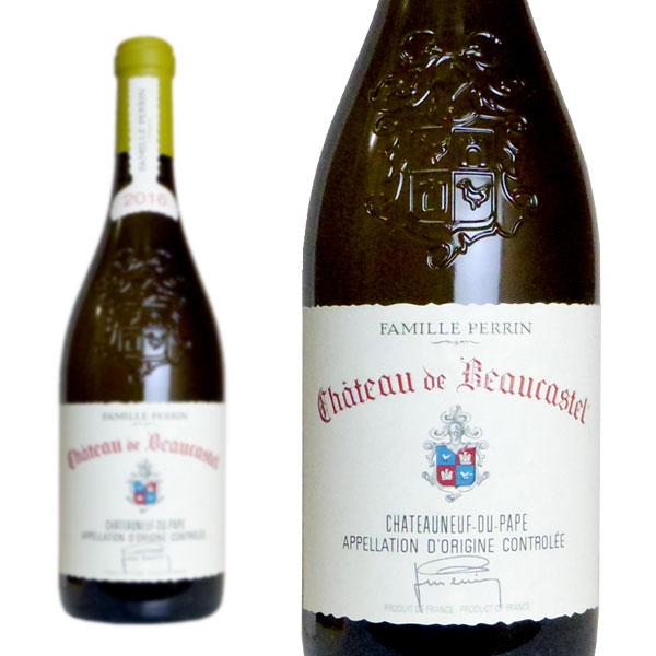シャトーヌフ・デュ・パプ ブラン 2016年 シャトー・ド・ボーカステル 750ml (フランス ローヌ 白ワイン)