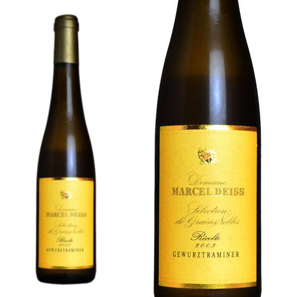 アルザス セレクション グラン・ノーブル ゲヴュルツトラミネール 2003年 ドメーヌ・マルセル・ダイス 500ml (フランス アルザス 白ワイン)