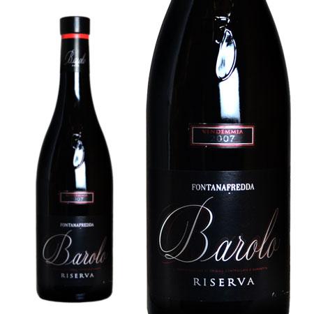 バローロ リゼルヴァ 2007年 フォンタナフレッダ社 750ml 正規 (イタリア ピエモンテ 赤ワイン)