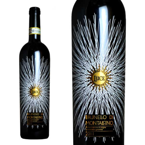 ルーチェ ブルネッロ・ディ・モンタルチーノ 2011年 ルーチェ・デッラ・ヴィーテ 750ml 直輸入品 (イタリア 赤ワイン)