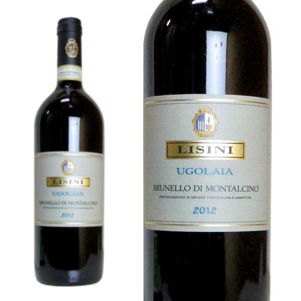 ウゴライア ブルネッロ・ディ・モンタルチーノ 2012年 アジエンダ・アグリコーラ・リジーニ 750ml (イタリア 赤ワイン)