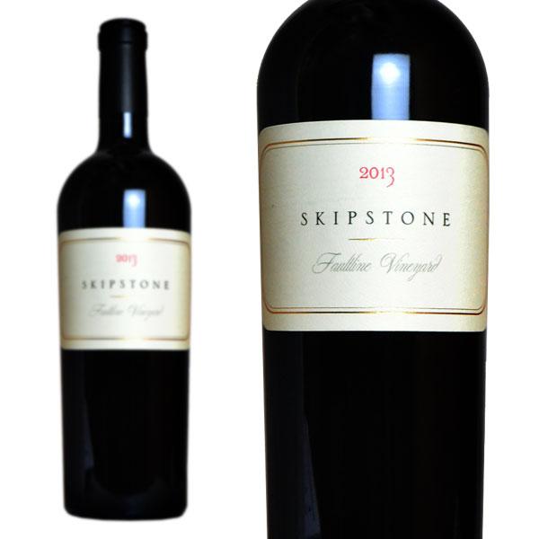 スキップストーン フォルトライン・ヴィンヤード 2013年 750ml (アメリカ カリフォルニア 赤ワイン)