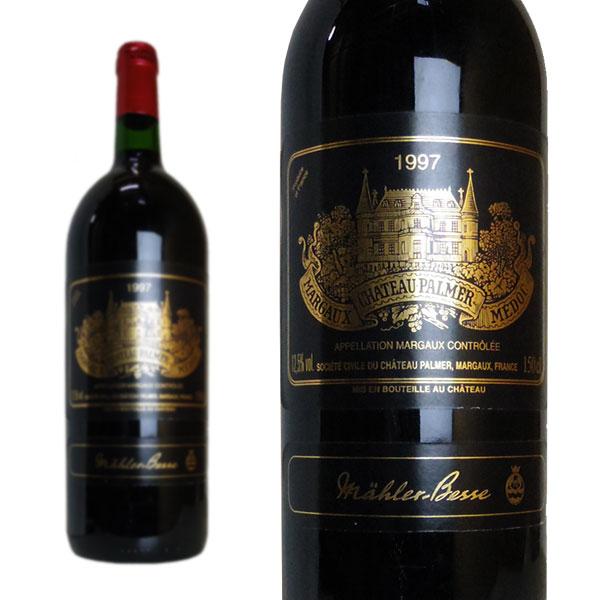 シャトー・パルメ 1997年 マグナムサイズ メドック格付第3級 1500ml (フランス ボルドー マルゴー 赤ワイン)