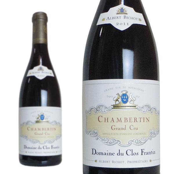 シャンベルタン グラン・クリュ 2011年 ドメーヌ・デュ・クロ・フランタン 750ml 正規 (フランス ブルゴーニュ 赤ワイン)