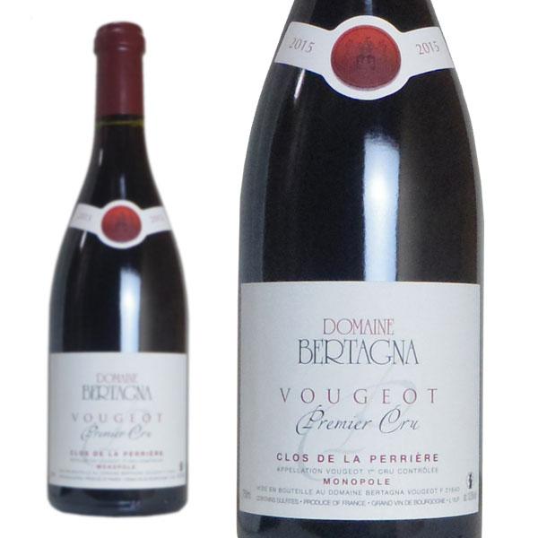 ヴージョ プルミエ・クリュ クロ・ド・ラ・ペリエール モノポール 2015年 ドメーヌ・ベルターニャ 750ml (フランス ブルゴーニュ 赤ワイン)