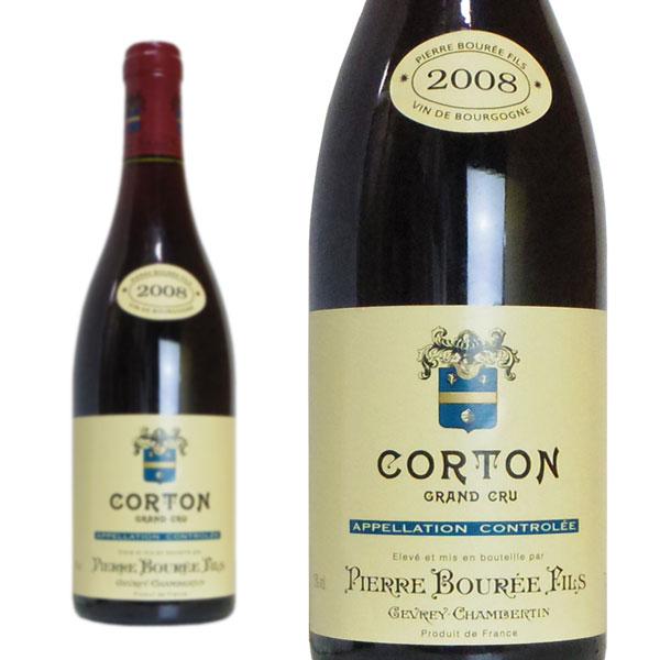 コルトン グラン・クリュ 2008年 ピエール・ブレ・エ・フィス 750ml (フランス ブルゴーニュ 赤ワイン)