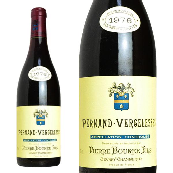 ペルナン・ヴェルジュレス ルージュ 1976年 ピエール・ブレ&フィス 750ml (フランス ブルゴーニュ 赤ワイン)