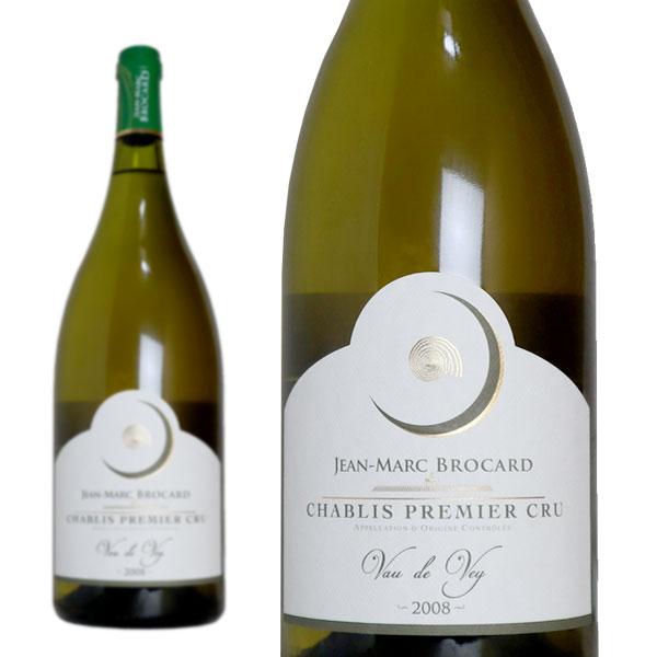 シャブリ プルミエ・クリュ ヴォー・ド・ヴェイ 2008年 ドメーヌ・ジャン・マルク・ブロカール マグナムサイズ 1500ml (フランス ブルゴーニュ 白ワイン)