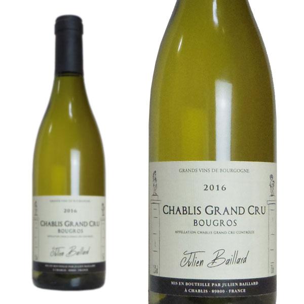 シャブリ グラン・クリュ ブグロ 2016年 ジュリアン・バイヤール 750ml (フランス ブルゴーニュ 白ワイン)