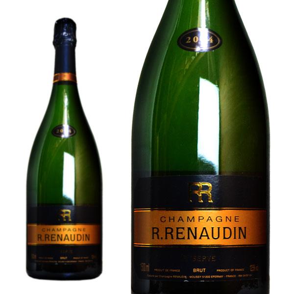 シャンパン R.ルノーダン ブリュット レゼルヴ ミレジム 2004年 マグナムサイズ 1500ml (フランス シャンパーニュ 白 箱なし)