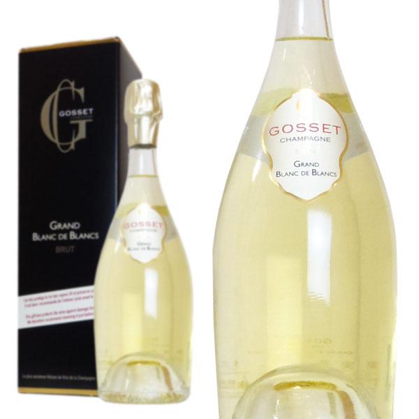 シャンパン ゴッセ グラン・ブラン・ド・ブラン ブリュット 750ml 箱入り 正規 (フランス シャンパーニュ 白)