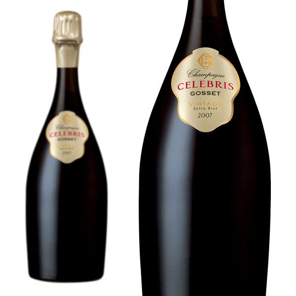 シャンパン ゴッセ セレブレス エクストラブリュット ミレジム2007年 750ml 正規 (フランス シャンパーニュ 白 箱なし)
