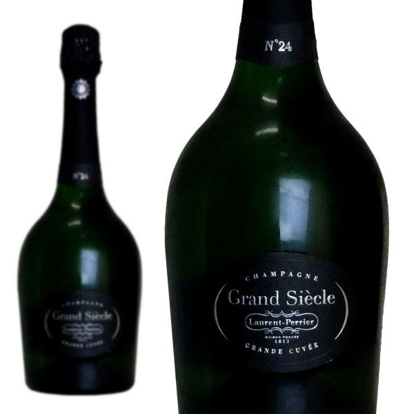 シャンパン ローラン・ペリエ グラン・シエクル No.24 750ml 正規 (フランス シャンパーニュ 白 箱なし)