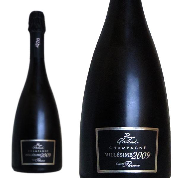 シャンパン ピエール・ゴビヤール キュヴェ・フローレンス ブリュット ミレジム 2009年 750ml 正規 (フランス シャンパーニュ 白 箱なし)