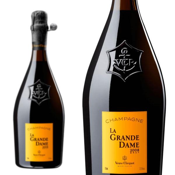 シャンパン クリコ シャンパン ヴーヴ クリコ ラ・グランダム 2008年 750ml 正規 (フランス シャンパーニュ 白 箱なし)