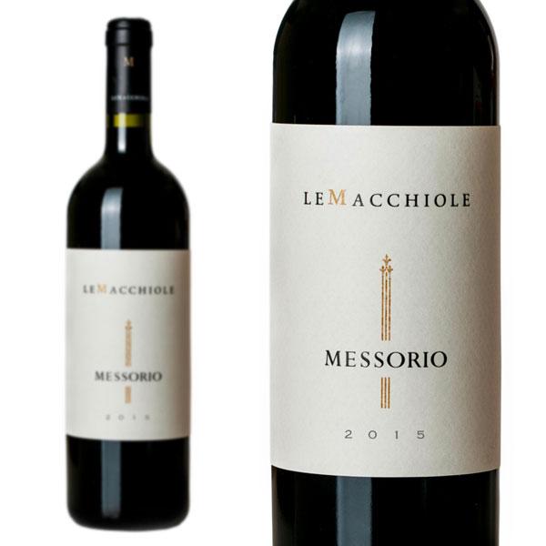 メッソリオ 2015年 レ・マッキオーレ 750ml (イタリア 赤ワイン)