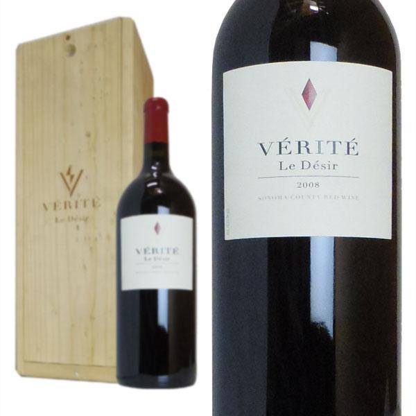 ヴェリテ ル・デジール 2008年 マグナムサイズ 木箱入り 正規 1500ml (アメリカ カリフォルニア 赤ワイン)
