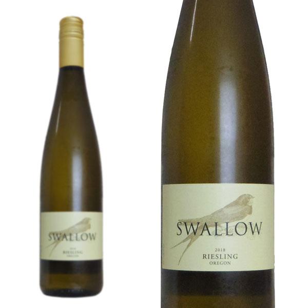 スワロー リースリング 2018年 フォリス ヴィンヤーズ ワイナリー オレゴン 授与 750ml アメリカ 送料込 白ワイン