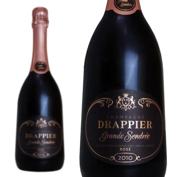 シャンパン ドラピエ シャンパーニュ グラン・サンドレ ロゼ ブリュット ヴィンテージ 2010年 750ml 正規 (フランス シャンパーニュ 箱なし)