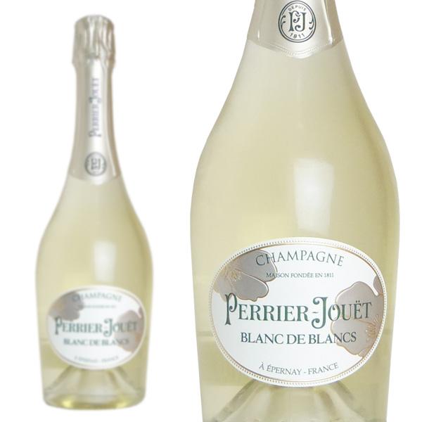 シャンパン ペリエ・ジュエ ブラン・ド・ブラン 750ml 正規 (フランス シャンパーニュ 白 箱なし)