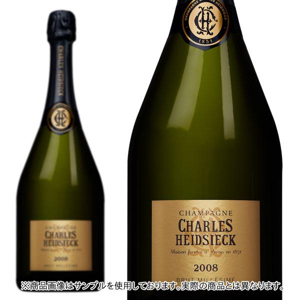 シャンパン シャルル・エドシック ブリュット ミレジム 2008年 750ml 正規 (フランス シャンパーニュ 白 箱なし)