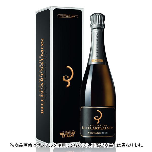 シャンパン ビルカール・サルモン エクストラブリュット ミレジム 2008年 750ml 箱入り 正規 (フランス シャンパーニュ 白)