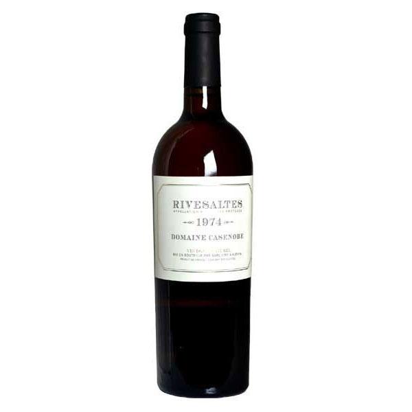 リヴザルト 1971年 ドメーヌ・カサノーブ 750ml (フランス 白ワイン)