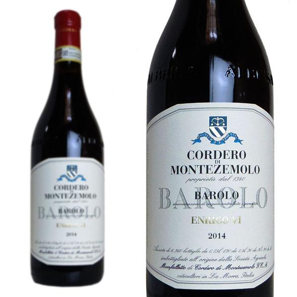バローロ ヴィーニャ・エンリコ6世 2012年 コルデロ・ディ・モンテゼーモロ 750ml (イタリア 赤ワイン)