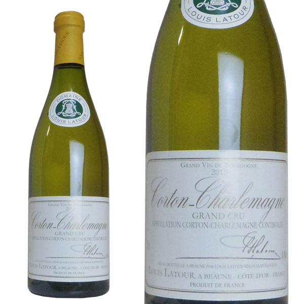 コルトン・シャルルマーニュ グラン・クリュ 2015年 ドメーヌ・ルイ・ラトゥール 750ml 正規 (フランス ブルゴーニュ 白ワイン)