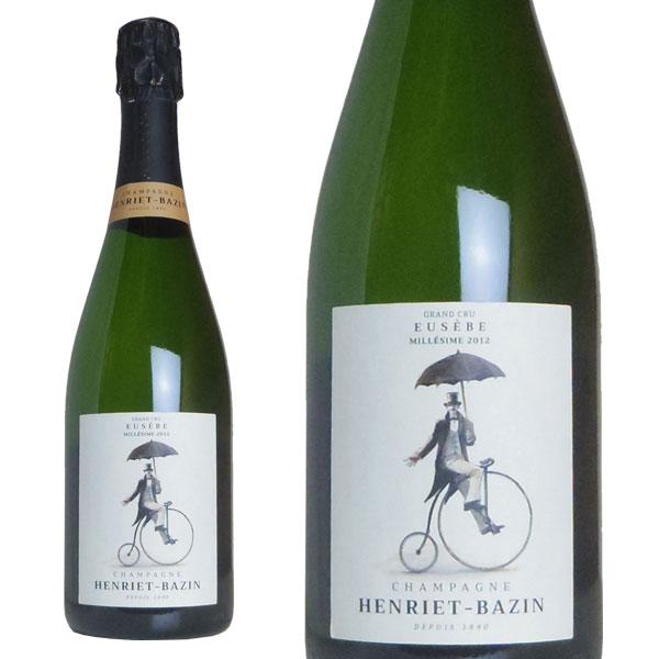 シャンパン アンリエ・バザン グラン・クリュ ウー・ゼブ ブリュット ミレジム 2012年 750ml (フランス シャンパーニュ 白 箱なし)