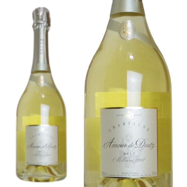 シャンパン ドゥーツ キュヴェ・アムール・ド・ドゥーツ ブリュット ミレジム2008年 750ml (フランス シャンパーニュ 白 箱なし)