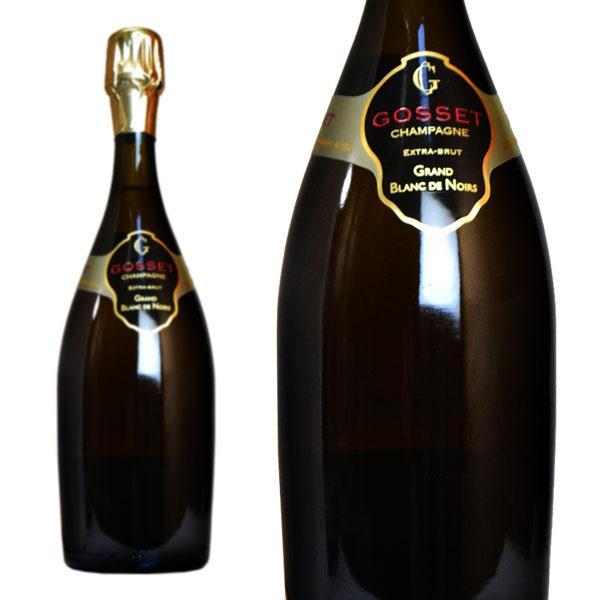 シャンパン ゴッセ グラン ブラン・ド・ノワール エクストラブリュット 750ml 正規 (フランス シャンパーニュ 白 箱なし)