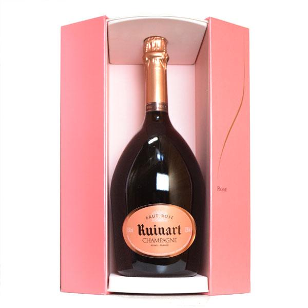 シャンパン リュイナール ブリュット ロゼ マグナムサイズ ギフト箱入り 1500ml 正規 (フランス シャンパーニュ ロゼ)