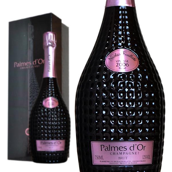 シャンパン ニコラ・フィアット パルメドール ロゼ 2006年 750ml 箱入り 正規 (フランス シャンパーニュ ロゼ)