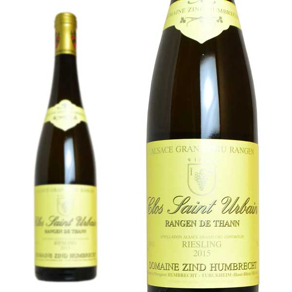 アルザス ランゲン・ド・タン クロ・サンテュルバン グラン・クリュ リースリング 2016年 ドメーヌ・ツィント・フンブレヒト 750ml (フランス 白ワイン)
