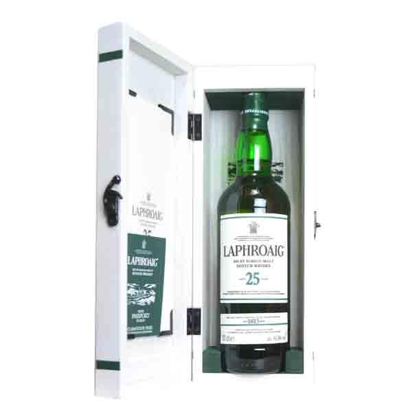 ラフロイグ 25年 48.6% 700ml 木箱入り (シングルモルトスコッチウイスキー)