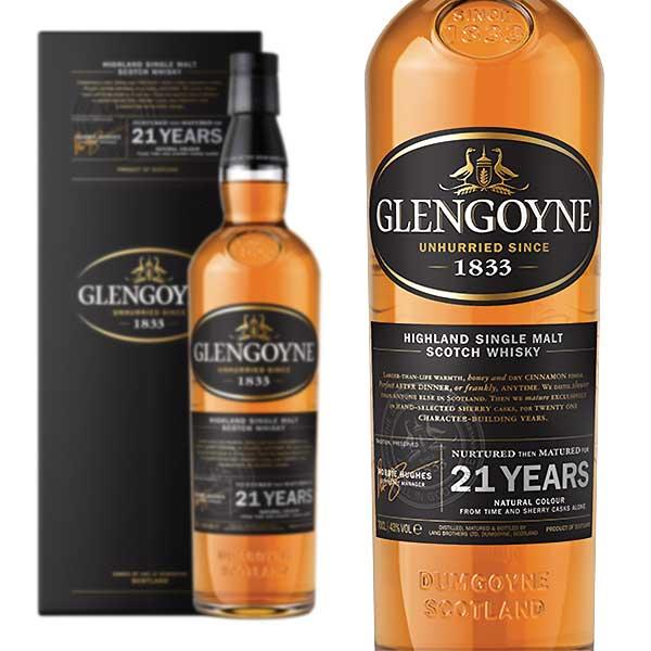 グレンゴイン 21年 43% 700ml 箱入り 正規 (シングルモルトスコッチウイスキー)