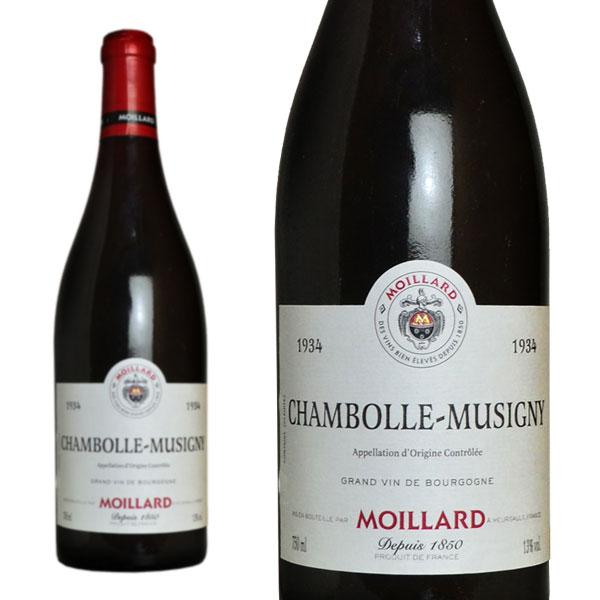 シャンボール・ミュジニー 1934年 モワラール社 正規 750ml (フランス ブルゴーニュ 赤ワイン)
