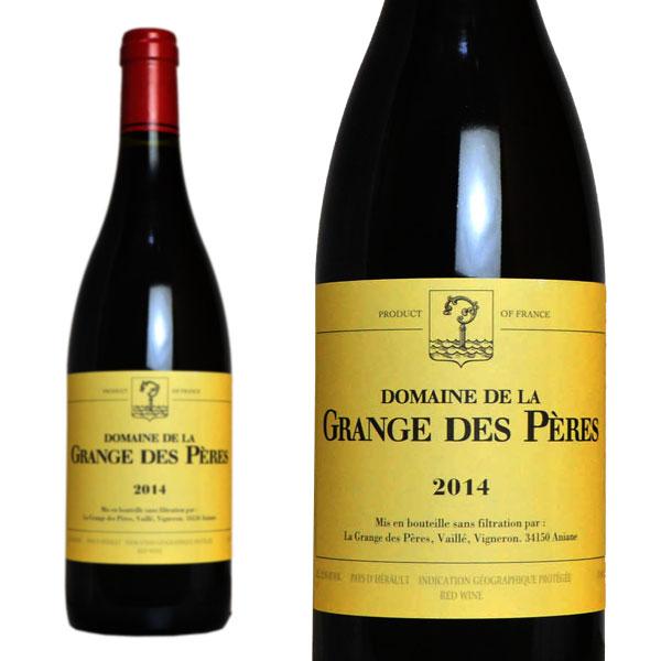 ラ・グランジュ・デ・ペール ルージュ・ヴァン・ド・ペイ・ド・レロー 2014年 750ml (フランス ラングドックルーション 赤ワイン)