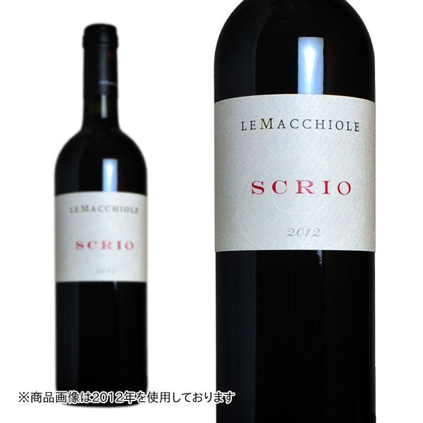スクリオ 2000年 レ・マッキオーレ 750ml (イタリア トスカーナ 赤ワイン)